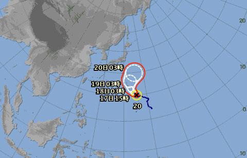 シルバーウィークの台風の影響