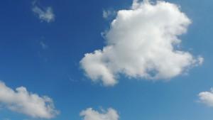 空はなぜ青く見えるの?